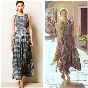Anthropologie Neuw Shibori maxi dress xs